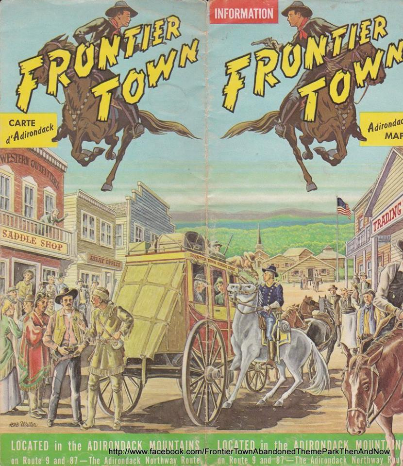 Frontier Town. [IMAGE: Frontier Town Then and Now Facebook page]