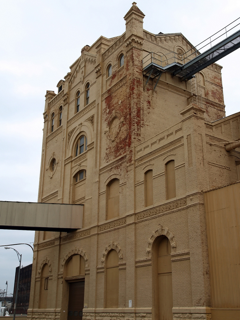 Genesee Brewery getting set to demolish this building. That would be a great loss. [Flickr Photo: Zeus-the-Ferret]