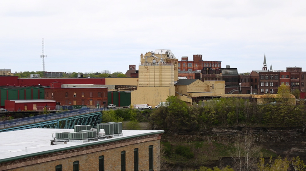 13 Cataract as seen from the High Falls parking ramp on State Street. [PHOTO: Crystal Pix, Inc.]