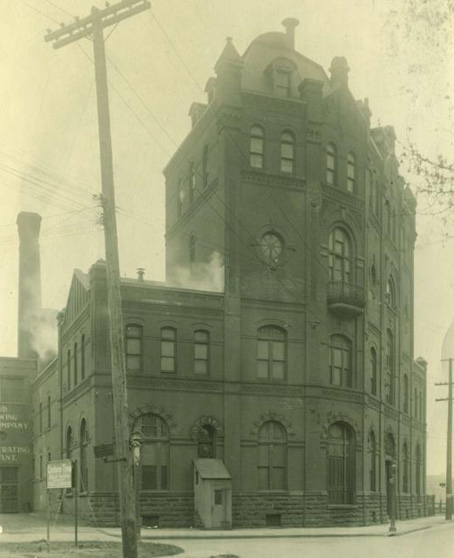 The building as it was in 1899. [PHOTO: Rochester Public Library]