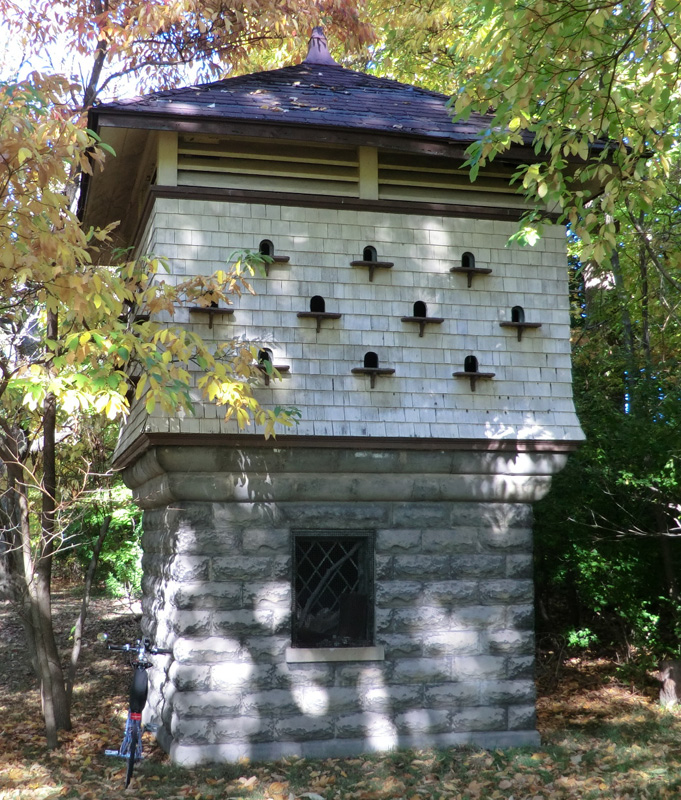 What is this building in Genesee Valley Park?