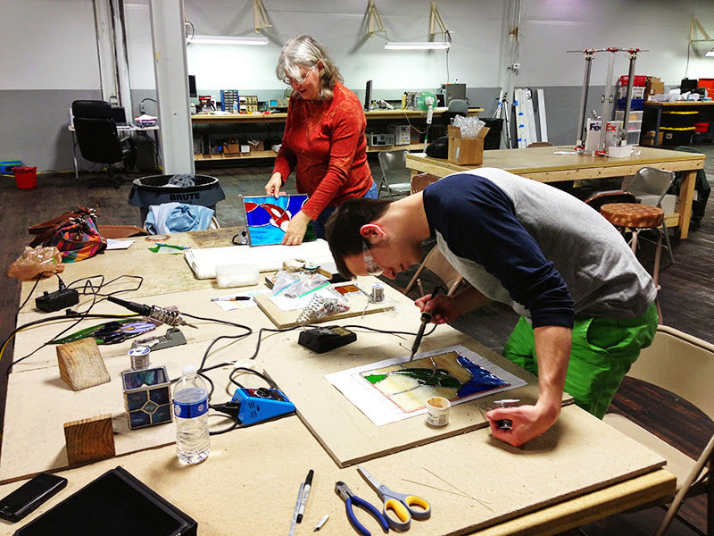 Rochester Makerspace is like a gym membership for people who like to create and make, says co-organizer Wyatt McBain. [IMAGE: Rochester Makerspace]