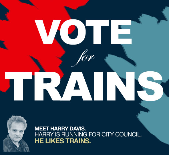 Vote For Trains... Uh, err, I mean Change!