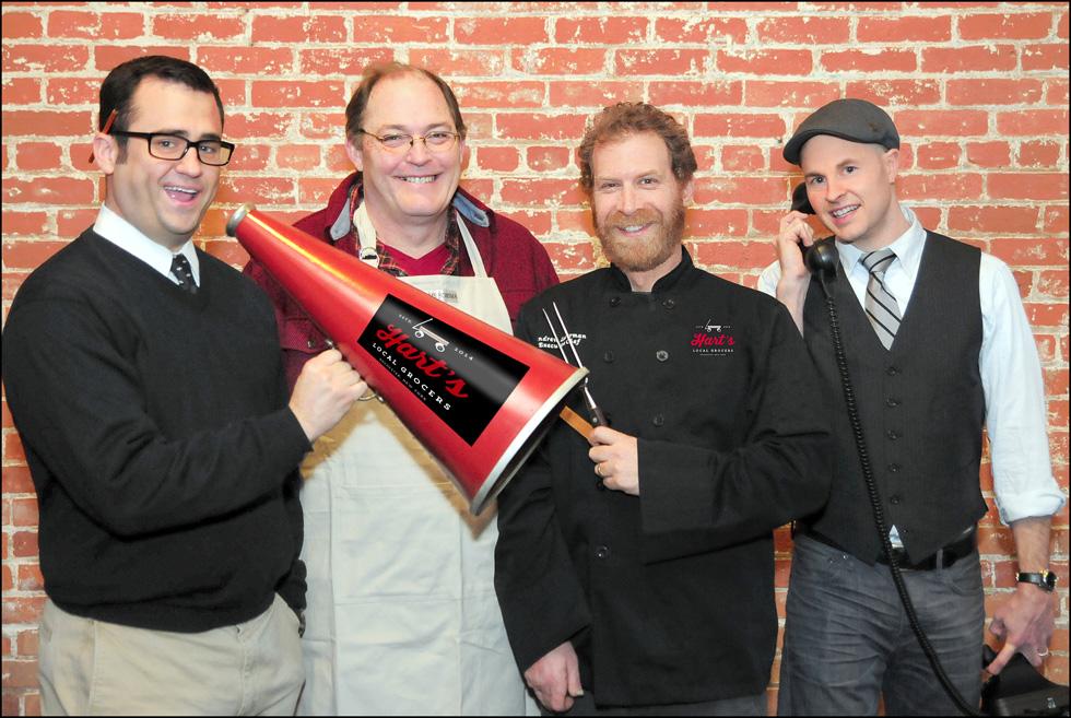 The Hart's team from left to right: Andrew Katz, Dean Sparks, Andrew Lederman, and Glenn Kellogg. [PHOTO: Provided]