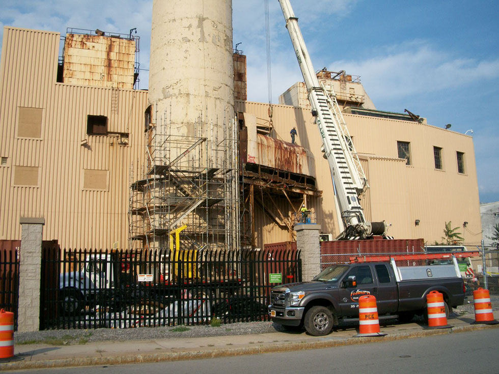 Sources say the structure will be gone before winter. [PHOTO: RochesterSubway.com]
