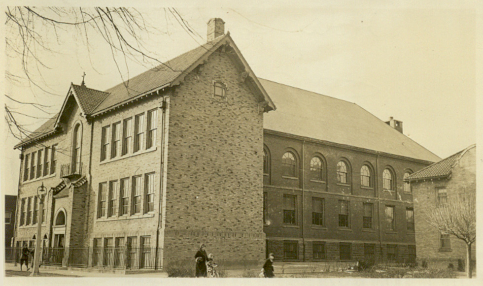 Holy Rosary School, Rochester NY. [PHOTO PROVIDED BY: Preservation Studios]
