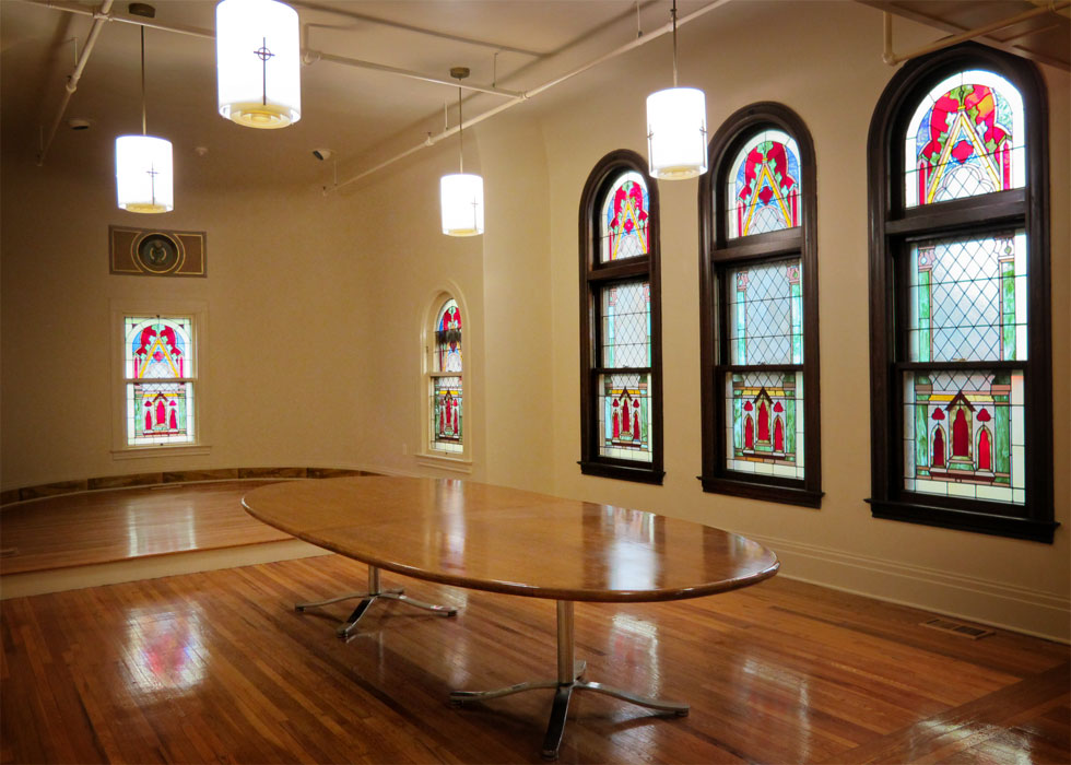 Holy Rosary Church, convent chapel. [PHOTO PROVIDED BY: Preservation Studios]