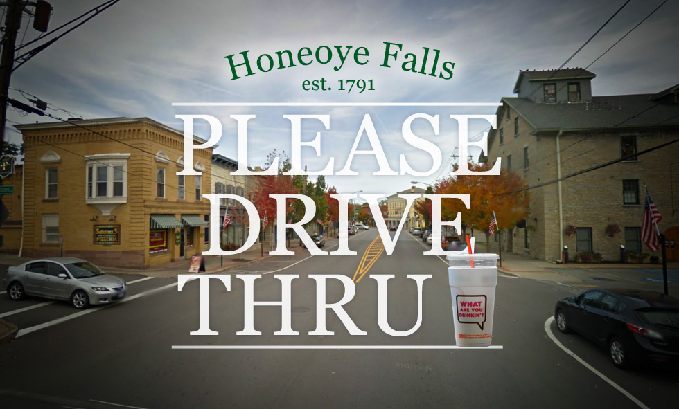 Honeoye Falls is moving to change the town code to allow drive-thru's. But would drive-thru chains be an improvement for this small town?