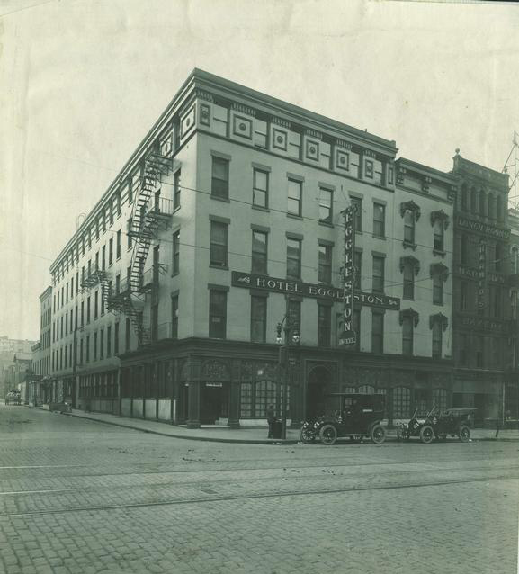 Hotel Eggleston. 1916. [PHOTO: Rochester Public Library]