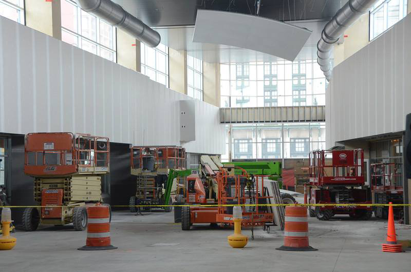 More workshops are planned for later in the year and as the RTS Transit Center opening approaches on Nov. 28, 2014. [PHOTO: RGRTA]