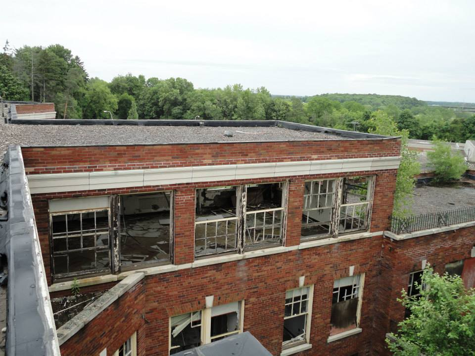 The Iola Tuberculosis Sanatorium. Now demolished. [PHOTO: Sarah Barnes]