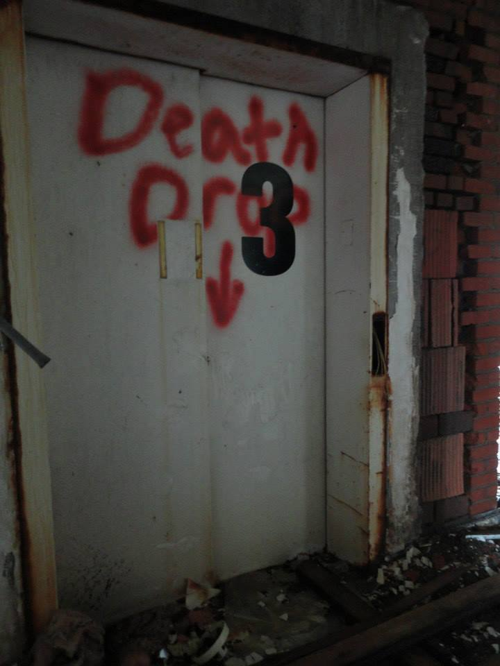 The abandoned Iola Tuberculosis Sanatorium. [PHOTO: Sarah Barnes]