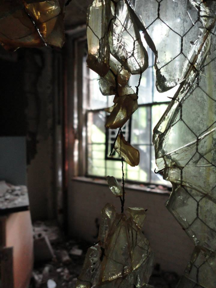 The abandoned Iola Tuberculosis Sanatorium. [PHOTO: Sarah Barnes]