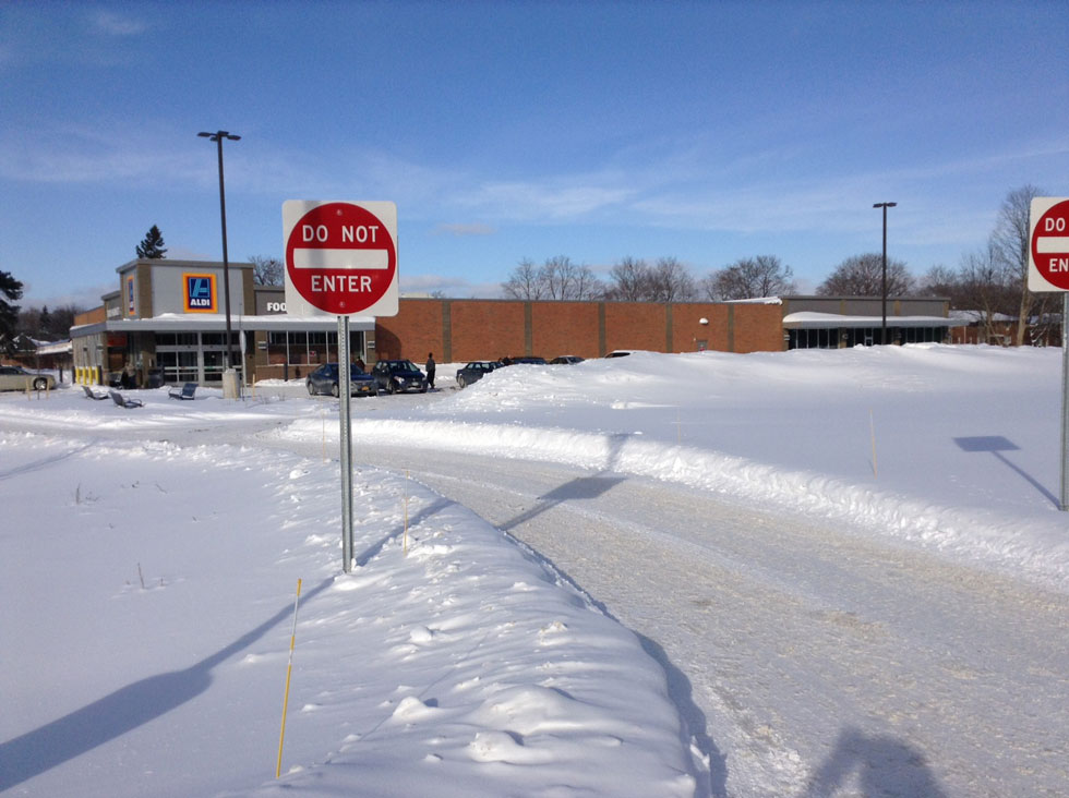 The new Aldi store in Irondequoit offers a glimpse into the future for the corner of North Winton and Blossom.