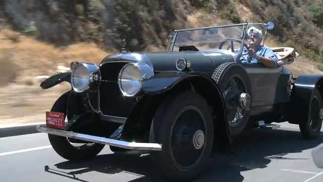 Jay Leno shows us one of his Cunningham cars in an amazing YouTube video. Cunningham cars were made in Rochester, NY.