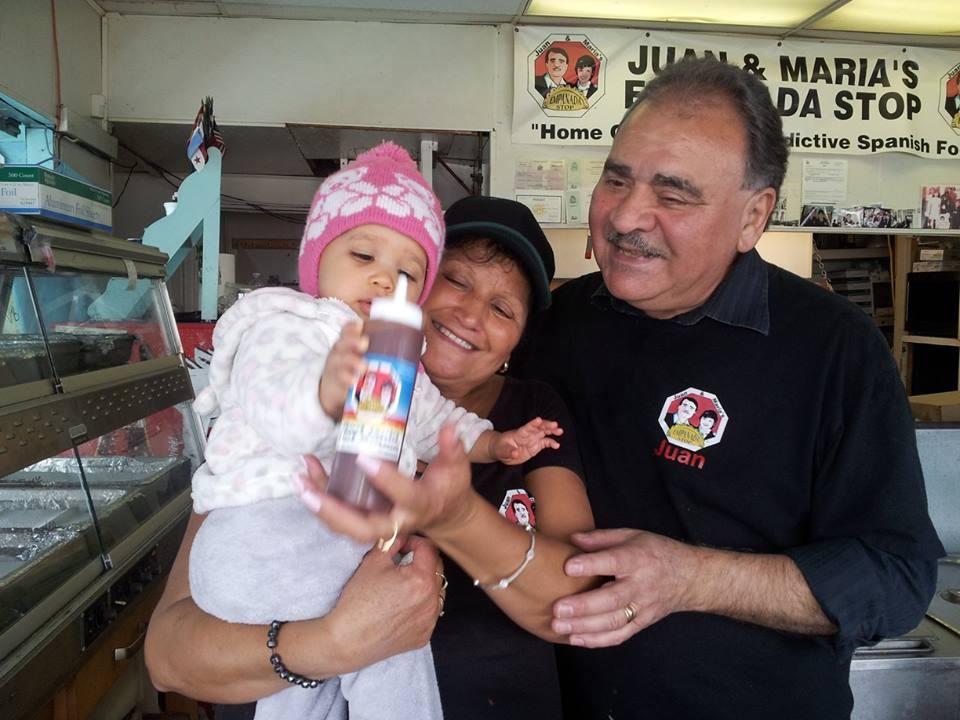 Juan & Maria's Empanada Stop at Rochester's Public Market.