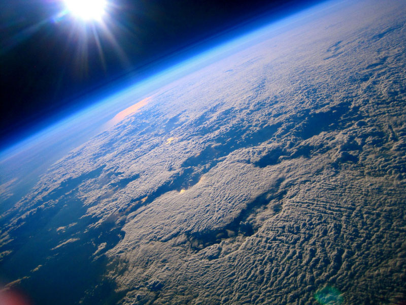 An image captured by a Lego man in space. Never thought I'd say those words. [PHOTO: via Toronto Star]