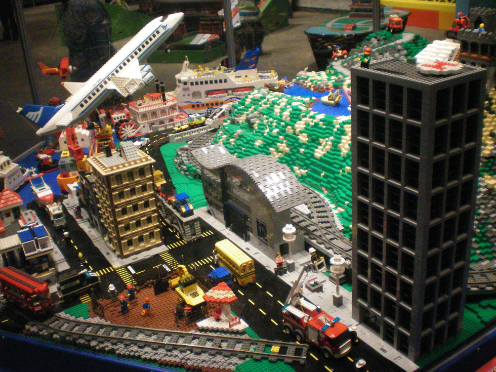 LEGO Travel Adventure exhibit at The Strong, National Museum of Play. Now thru May 12, 2013. [PHOTO: RochesterSubway.com]