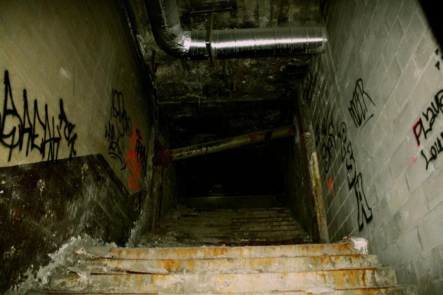 Rochester subway tunnel. [PHOTO: Lizz Comstock]