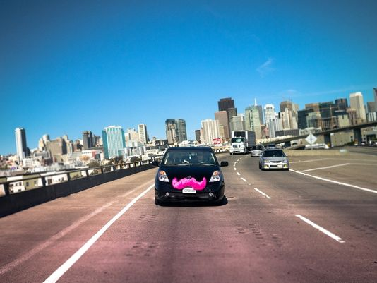 Lyft is a San Francisco–based company whose mobile-phone app facilitates peer-to-peer ridesharing; enabling passengers who need a ride to request one from drivers in their area. [PHOTO: Lyft]
