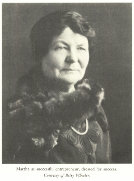 Martha Matilda Harper later in life, as a successful entrepreneur. [IMAGE: From the book, 'Martha Matilda Harper and The American Dream: How One Woman Changed The Face of Modern Business' by Jane R. Plitt]