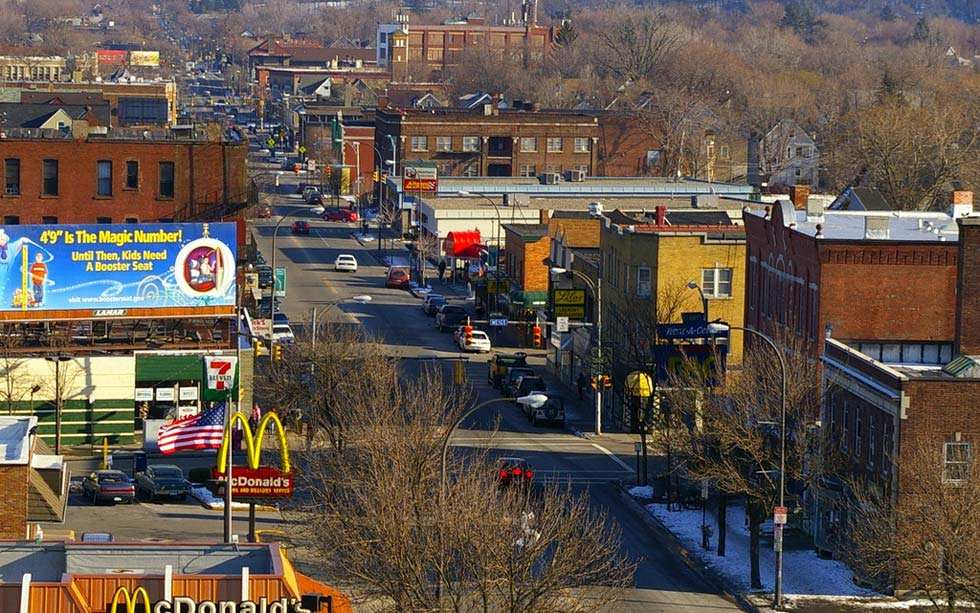 This week's edition of 'Filling In' looks at some small changes that could make Monroe Avenue even better. [PHOTO: RocPX.com]