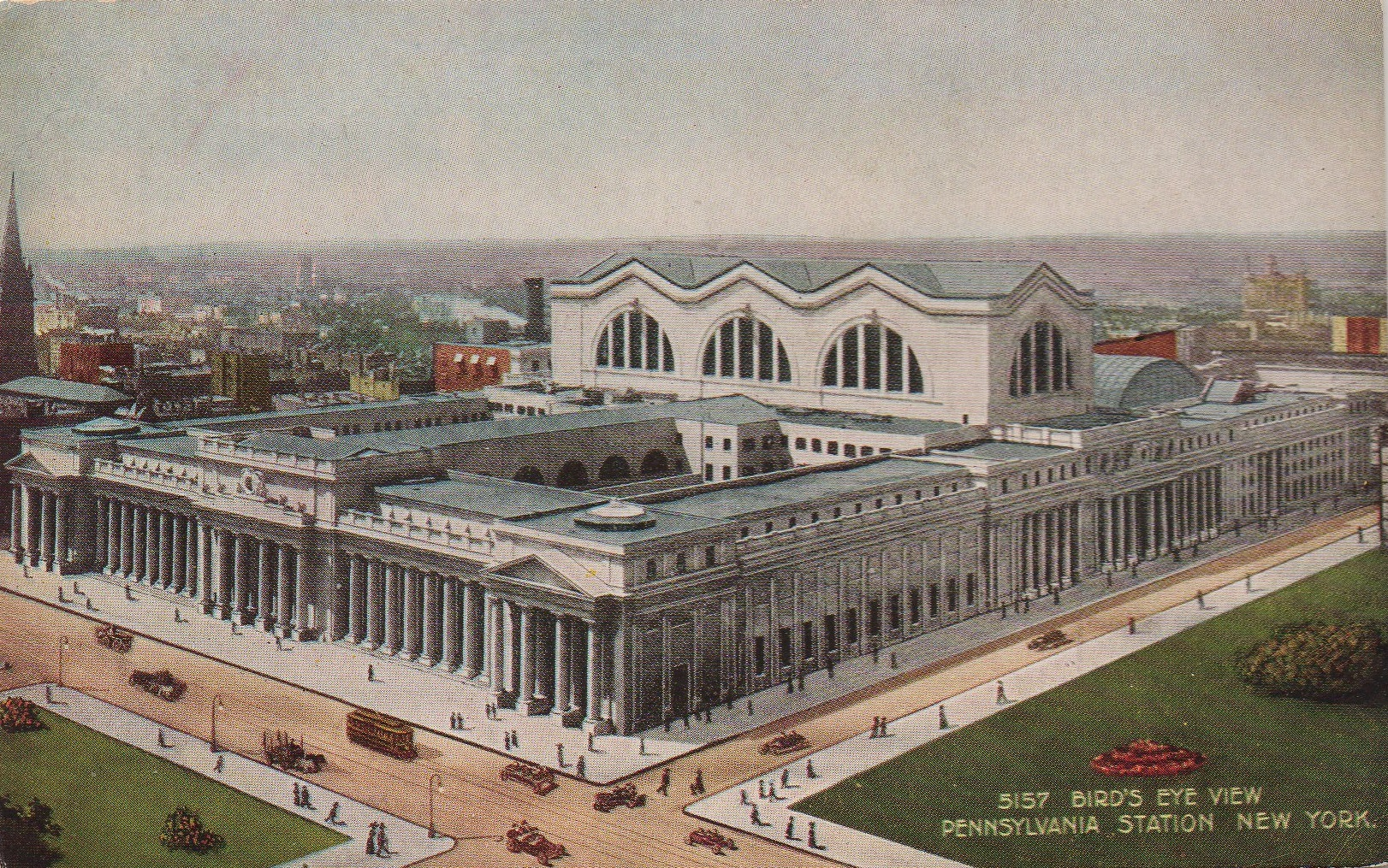 New York's old Pennsylvania Station before it was torn down in 1963.