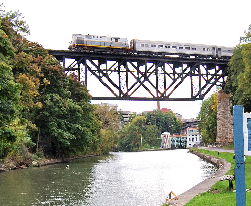 A new way to enjoy Rochester's wine trails, Niagara Wine Trail Train Excursions will begin on September 27. [PHOTO: Mike Dorofy]