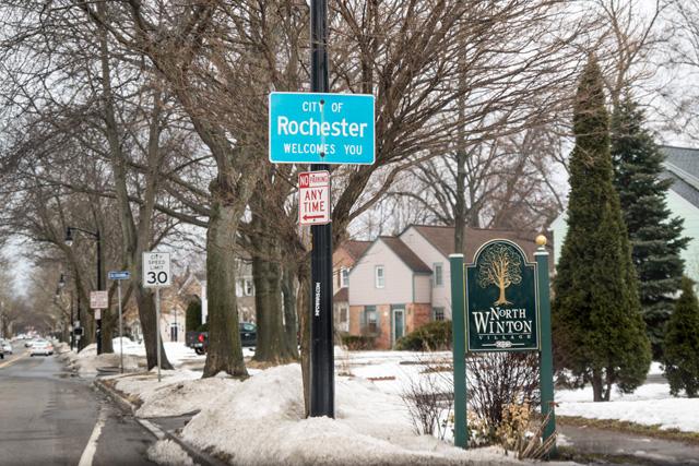 North Winton Village, Rochester NY. [IMAGE: Rich Tyson]