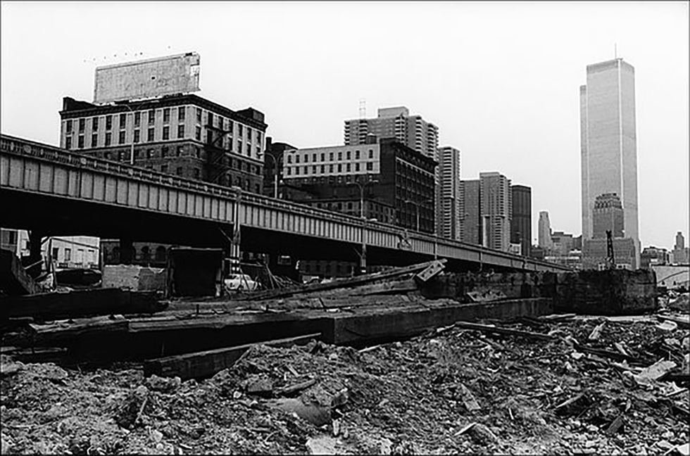 A young NYC traffic engineer, Samuel Schwartz, noted how traffic seemed to disappear after the closure of the highway.