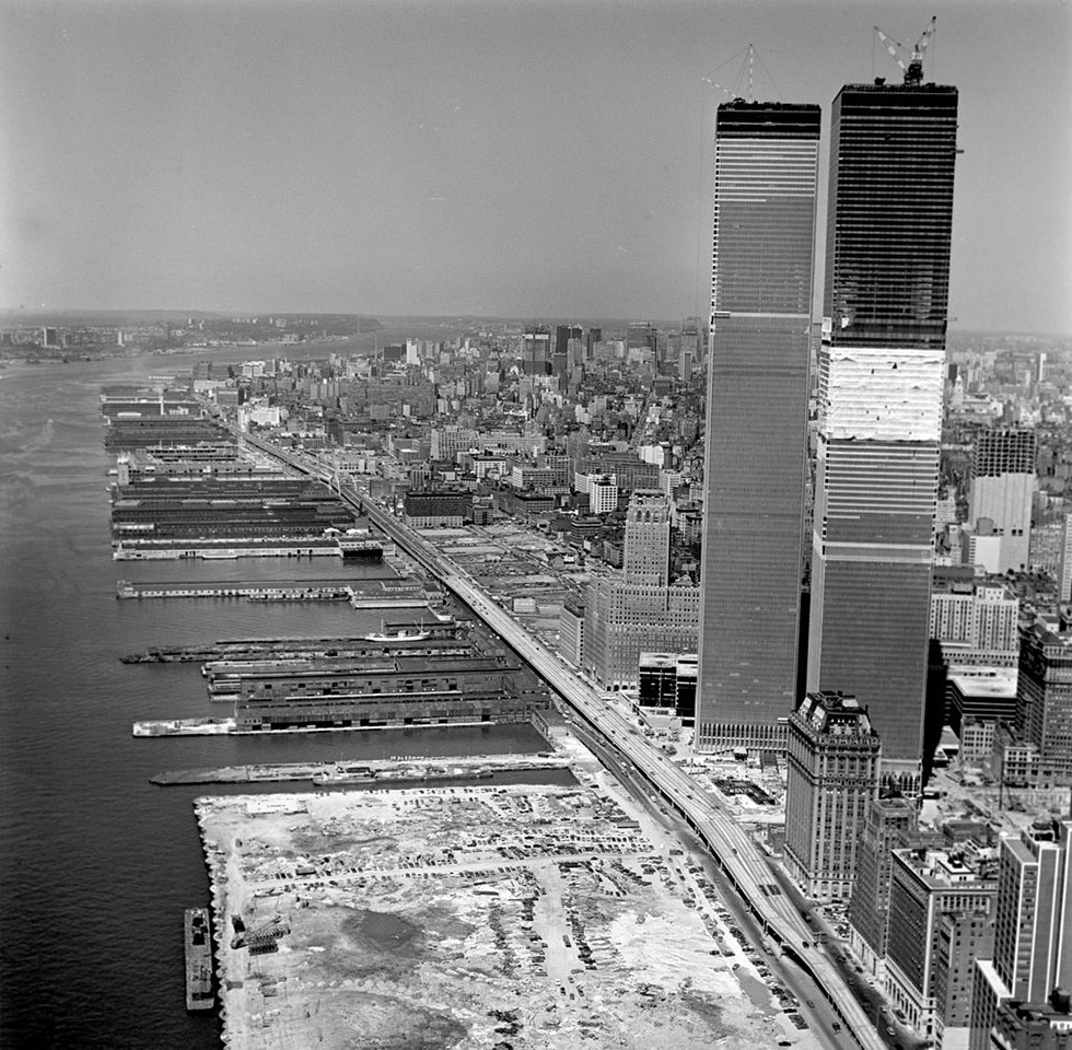 The West Side Highway in Manhattan, opened in 1936, was the world's first elevated highway.