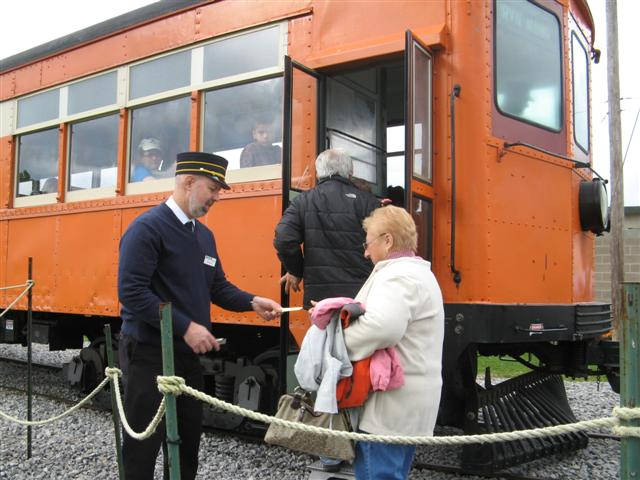 Trolley rides at The New York Museum of Transportation. [IMAGE: Provided]