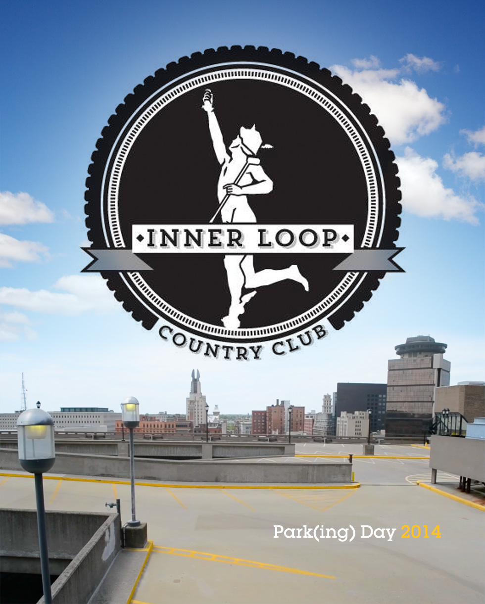 Get ready to putt your way through Park(ing) Day 2014, at Rochester's prestigious Inner Loop Country Club.