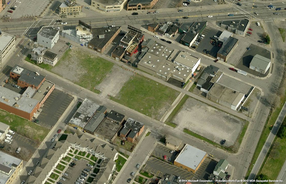 This is (was) a brownfield, so the Corrective Action Plan must be followed during and after construction. [IMAGE: Bing]