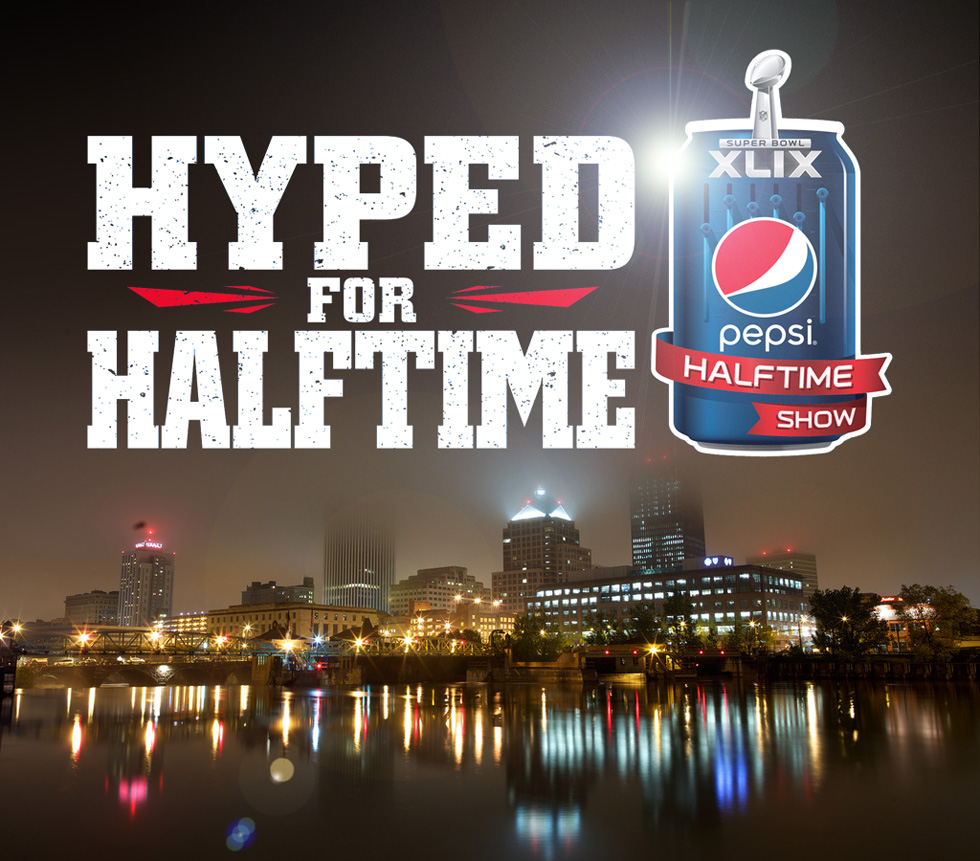 Rochesterians voted and won the Hyped for Halftime / Hype Your Hometown contest sponsored by Pepsi! [PHOTO: Joe Philipson, Flickr]