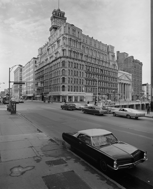 The Powers Building at Main & State Streets, 1968. [PHOTO: Winters, via Library of Congress]