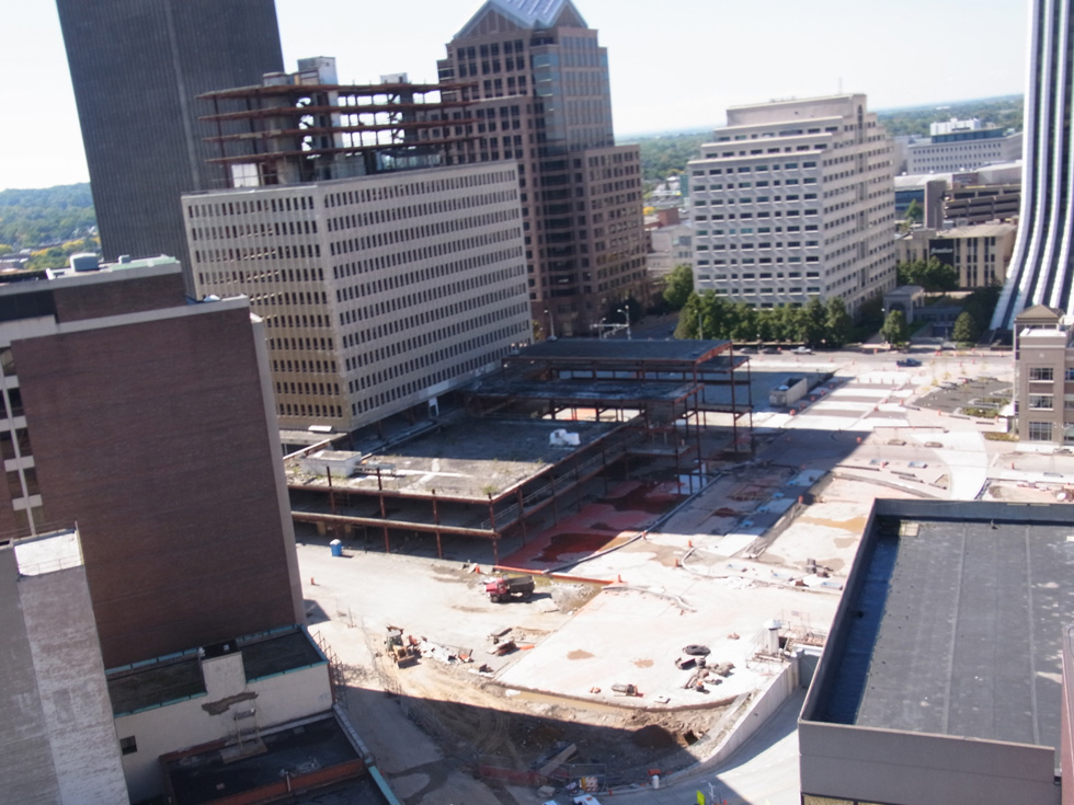 Midtown Tower construction site. [PHOTO: Jimmy Combs]