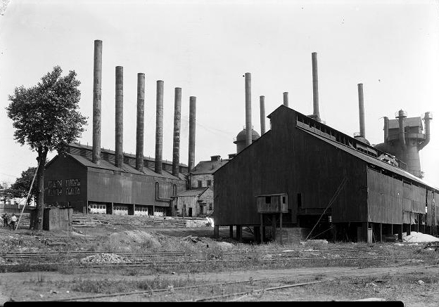 Quinnesee Iron Mining facility at Charlotte. [IMAGE VIA: LaBella Associates]