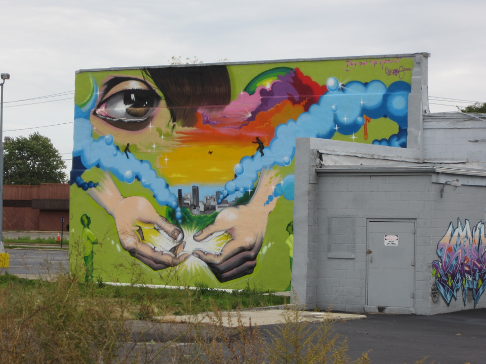 Some images from El Camino and a few Wall\Therapy murals, a wonderful and unique addition to Rochester's trails. [PHOTO: Ryan Green]