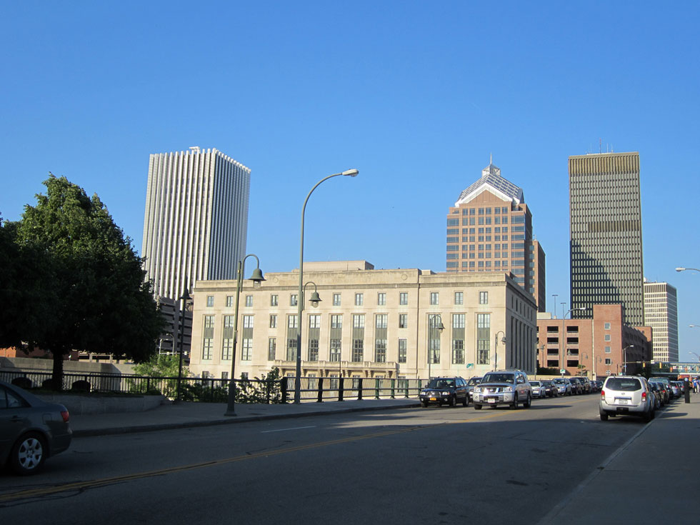 Downtown Rochester, from Court Street. [PHOTO: Ryan Green]