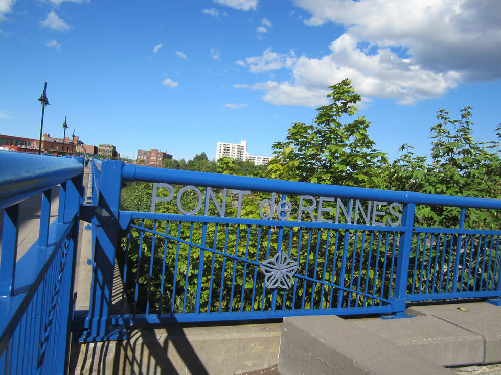Pont de Rennes bridge. [PHOTO: Ryan Green]