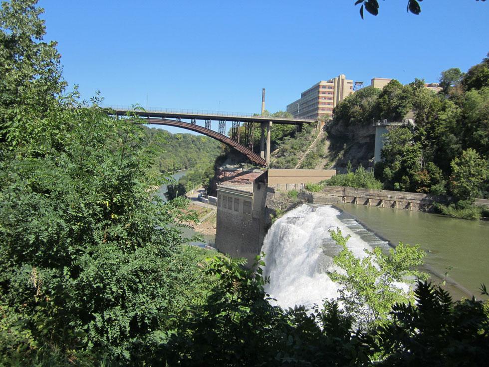 Lower Falls and Driving Park Bridge. [PHOTO: Ryan Green]