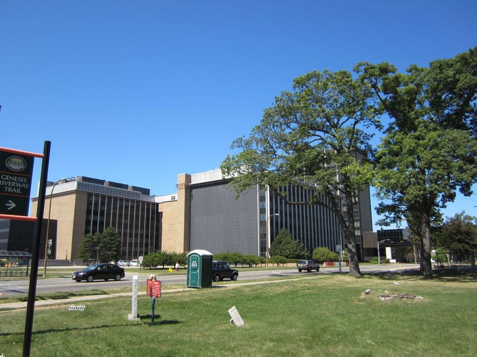 Lake Avenue at the Kodak research facility. [PHOTO: Ryan Green]