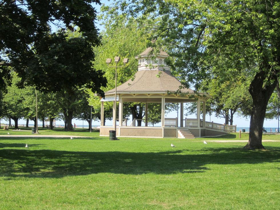 Ontario Beach Pavilion. [PHOTO: Ryan Green]