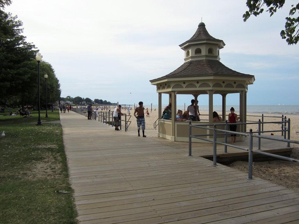 Ontario Beach boardwalk. [PHOTO: Ryan Green]