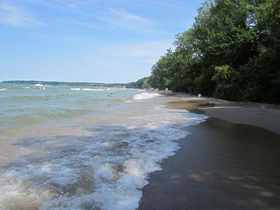 Durand Eastman Beach. [PHOTO: Ryan Green]