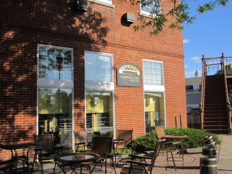 I decided to eat at the Towpath Cafe, a very nice coffee shop/restaurant with a friendly staff. [PHOTO: Ryan Green]