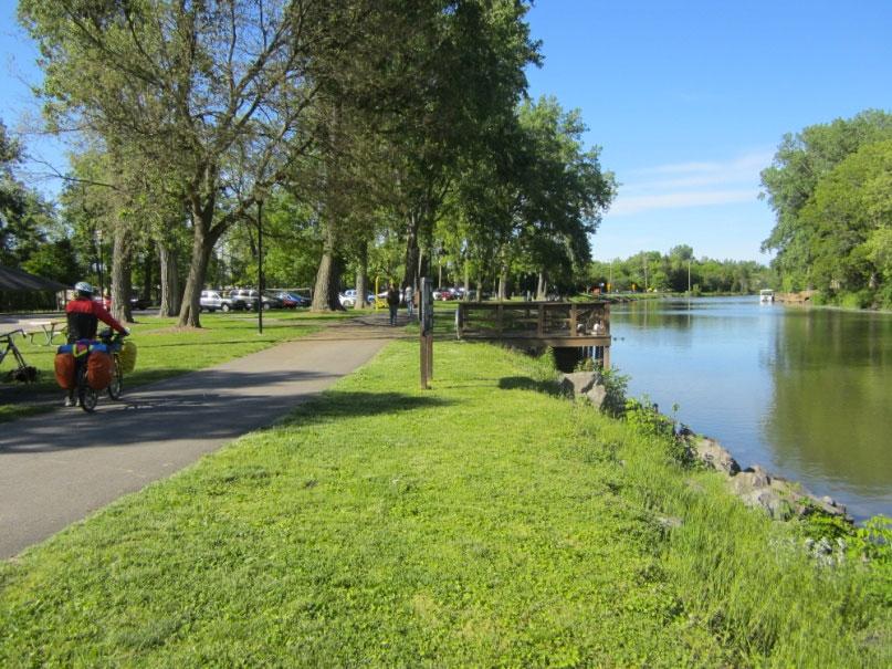 Near Perinton Park along the Erie Canal Path. [PHOTO: Ryan Green]
