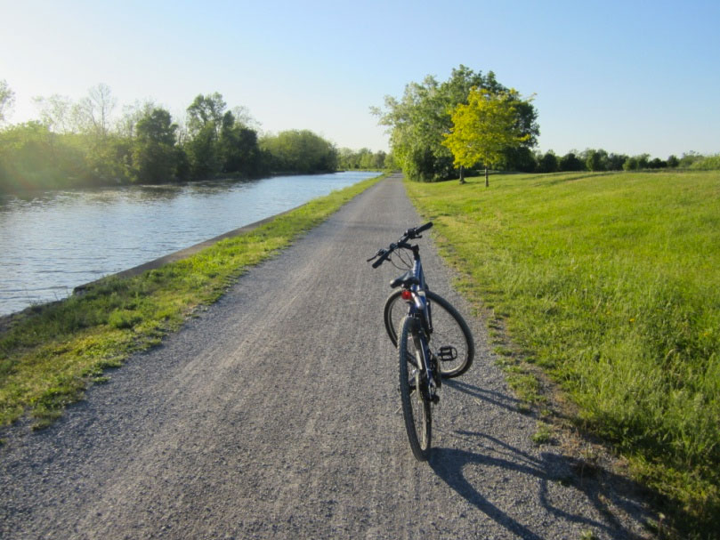 Ryan Green takes us on a bike ride from downtown Rochester to Fairport. [PHOTO: Ryan Green]