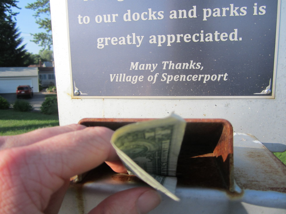 ...And give them thanks for their nice park. [PHOTO: Ryan Green]